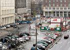 Mniej miejsc parkingowych w centrum Warszawy