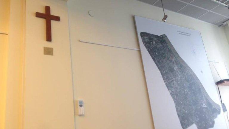 Krzyż rada dzielnicy