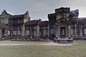 """Najcenniejszy zabytek Kambod�y w Google Street View. """"Miejsca niedost�pne dla turyst�w"""""""