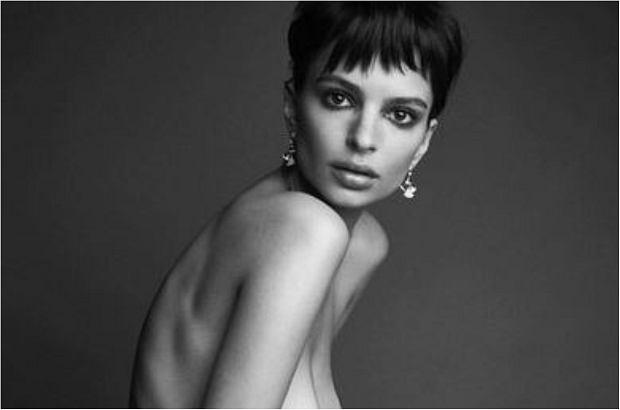 Emily Ratajkowski tak chudej jeszcze nie widzieliśmy. Modelka polskiego pochodzenia wzięła udział w sesji dla magazynu 'Love'. Efekt? Przeraża. Zobaczcie sami.
