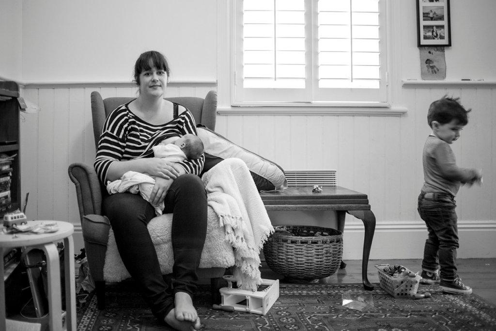 Matki karmiące piersią w obiektywie Suzie Blake