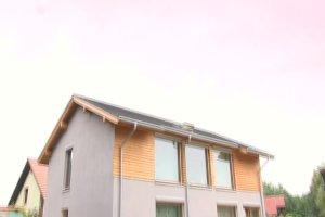 Realizacje domów: dom pasywny według projektu gotowego