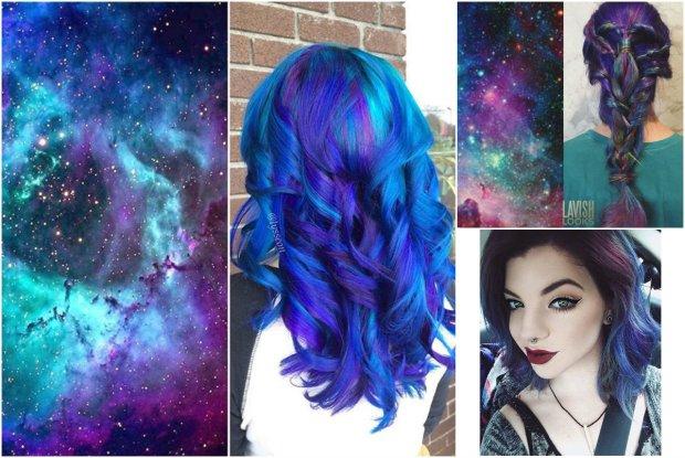 Najbardziej kolorowy trend roku? Tym razem fryzury inspirowane s�... kosmosem
