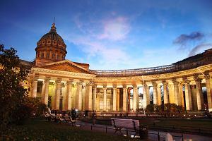 Prospekt Newski Petersburg. Zwiedzamy Sobór Kazański