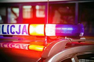 Pijany kierowca daewoo pr�bowa� przejecha� policjanta