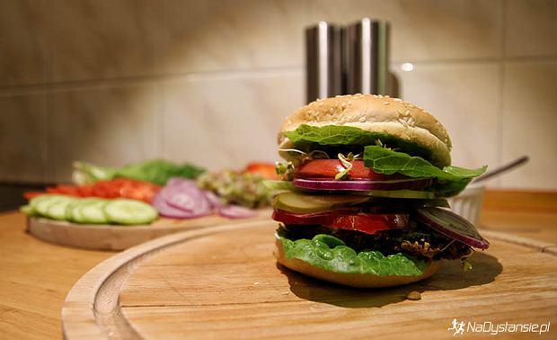 Burger bez mięsa