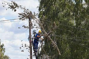 Tysiące ludzi wciąż bez prądu