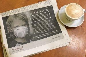 """""""Papieżu Franciszku! Twój głos może uratować tysiące krakowian"""" - niecodzienne ogłoszenie w """"La Repubblica"""""""