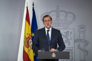 Premier Hiszpanii: Niech Katalonia wyjaśni, czy ogłosiła niepodległość, czy nie