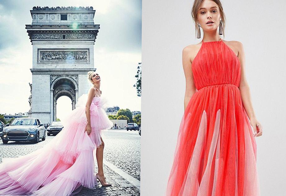 253589dbc3 Sukienka z tiulem - romantycznie lub z pazurem. Modele na różne ...