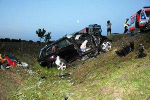 Tragiczny wypadek: nie żyją trzy osoby [ZDJĘCIA]