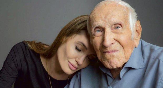 Angelina Jolie wraz z bohaterem swojego filmu