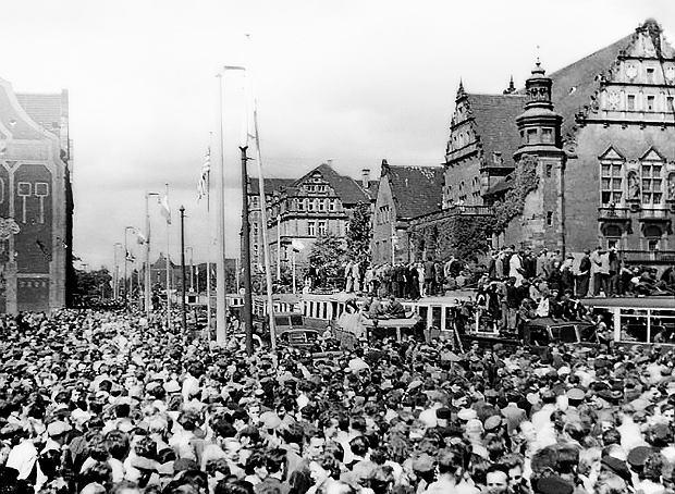 Pozna� '56. Wybuch w Poznaniu