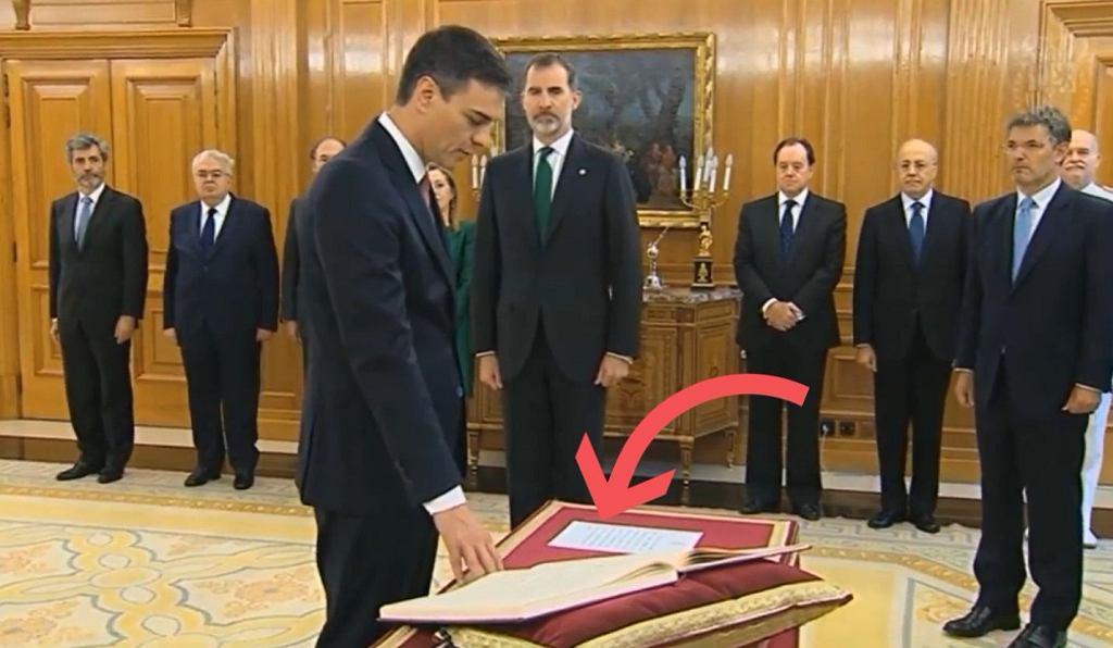 Pedro Sanchez, nowy premier Hiszpanii
