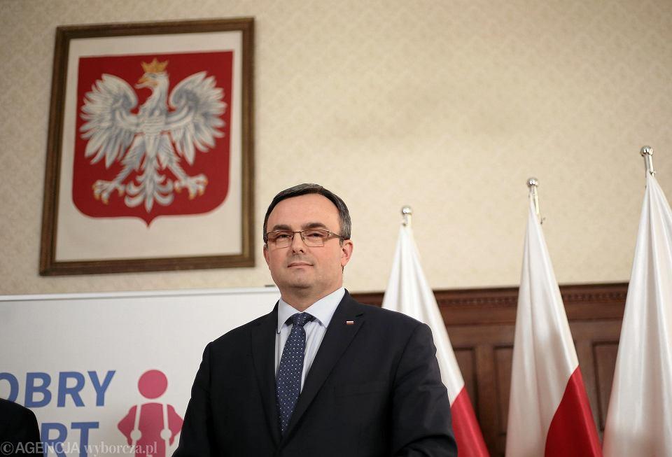 Wojewoda Tomasz Hinc