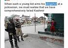 Chłopiec z procą w Kaszmirze