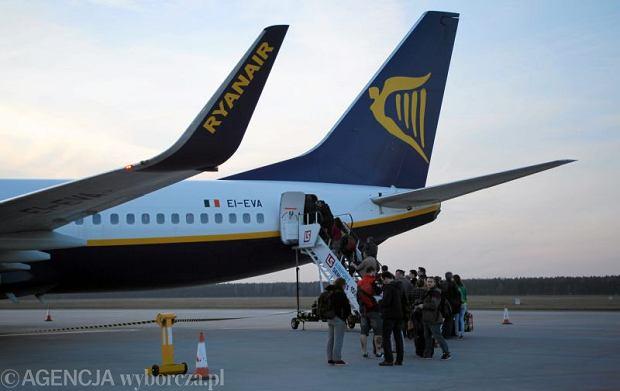 Alarm na lotnisku Skavsta okazał się fałszywy. Właścicielka walizki zwolniona