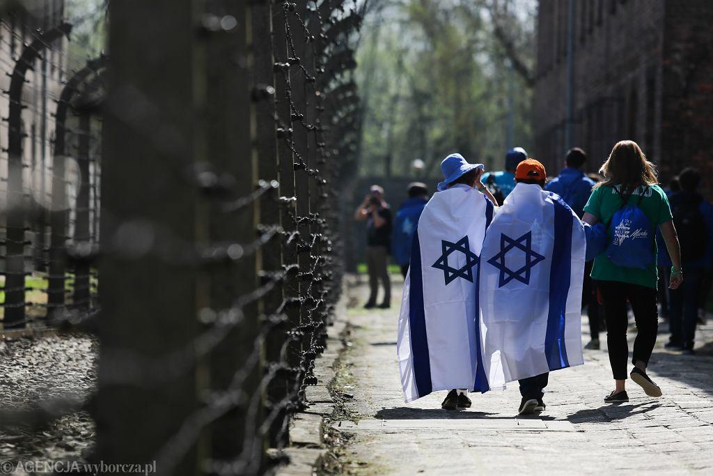 Goście z Izraela na Marszu Żywych w Oświęcimiu