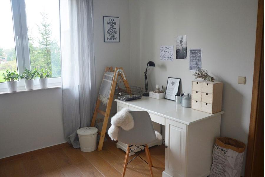 Mały gabinet w domu