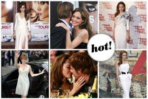 Angelina Jolie i Brad Pitt s� ma��e�stwem! Angie wyst�pi�a w eleganckiej sukni z koronek i jedwabiu, a do o�tarza poprowadzili j� najstarsi synowie. Co jeszcze wiadomo o tajemniczej ceremonii?