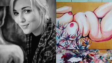 Aleksandra Serocka i jej obraz