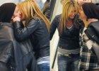 Zakochani Rozenek i Majdan przy�apani na gor�cych poca�unkach w centrum handlowym