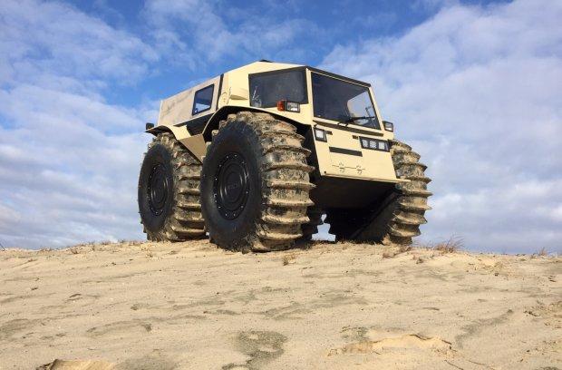 Szerp ATV | Rosyjski wszędołaz