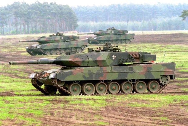 Do �agania trafi� pierwsze niemieckie czo�gi Leopard 2