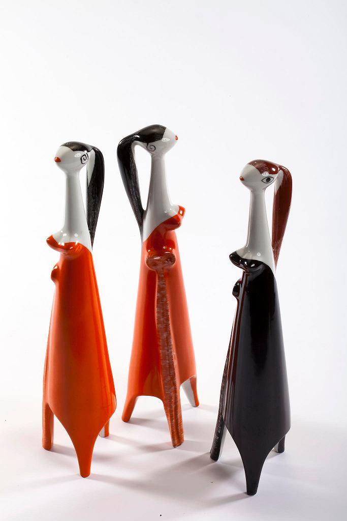 Figurki 'Sexbomba', 1959, Henryk Jędrasiak, Instytut Wzornictwa Przemysłowego. Galeria Wzornictwa Polskiego w Muzeum Narodowym / PIOTR LIGIER