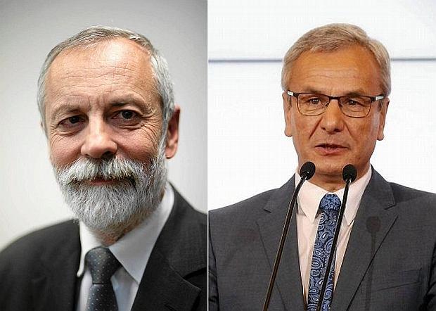 Rafał Grupiński i Andrzej Biernat