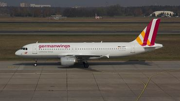 Airbus A320 w barwach Germanwings