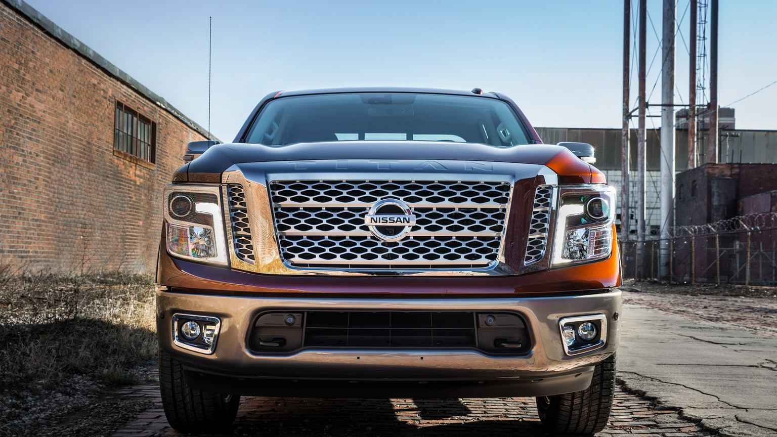 salon nowy jork 2016 nissan titan xd pickup z potężn�