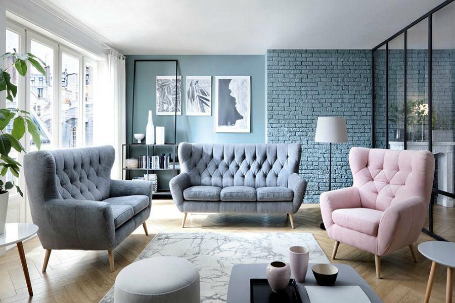 pikowane sofy krzes�a i fotele design i elegancja