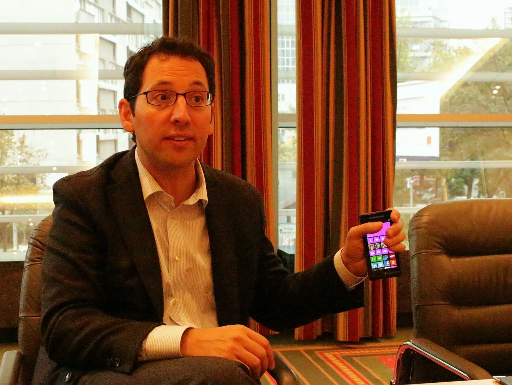 Chris Capossela, szef marketingu Microsoftu