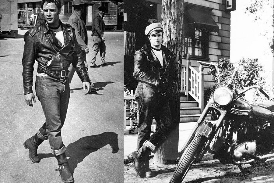 Marlon Brando w filmie 'Dziki'
