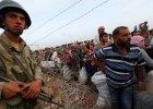"""Zajęty sztab obrony Kobane - miasto jeszcze walczy. """"Desperacko potrzebujemy pomocy"""""""