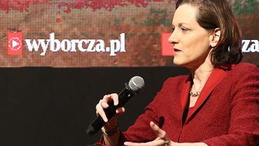 Anne Applebaum w Centrum Premier