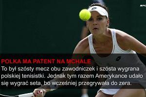 Wimbledon. Radwańska wygrała po horrorze
