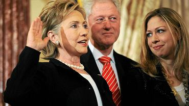 Hillary i Bill Clintonowie