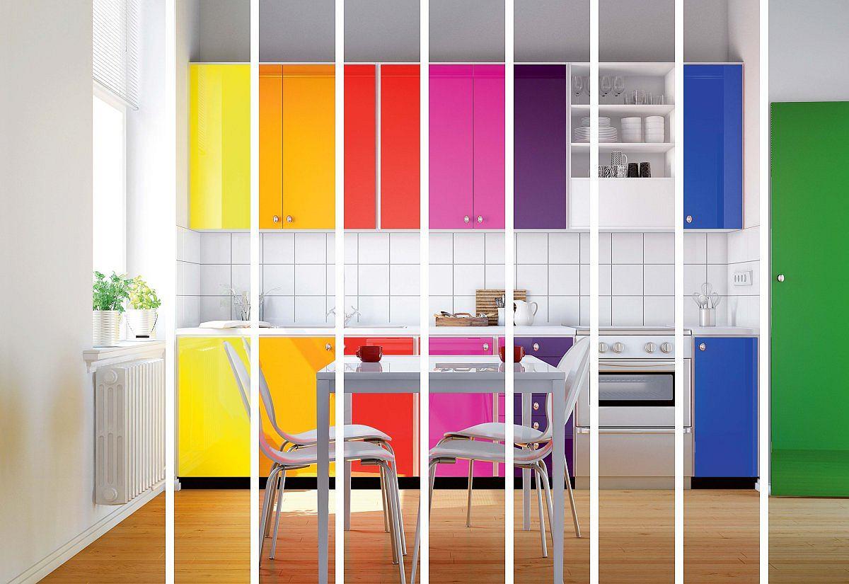 jaki kolor wybra� do kuchni meble kuchenne i ściany w kolorze