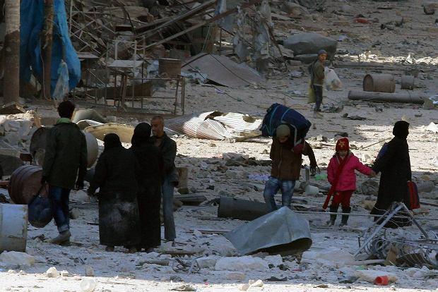 Aleppo, Syria. 28 listopada 2016 r.