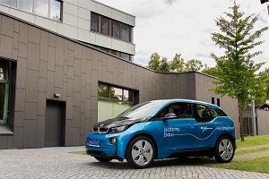 Elektryczne BMW ambasady Niemiec w Warszawie