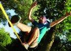 Slackline: zostałem linoskoczkiem