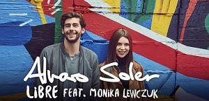 """Wielka gwiazda latino, znany z przeboju """"Sofia"""" Alvaro Soler zaprezentował nowy singiel, w którym towarzyszy mu polska wokalistka, Monika Lewczuk."""