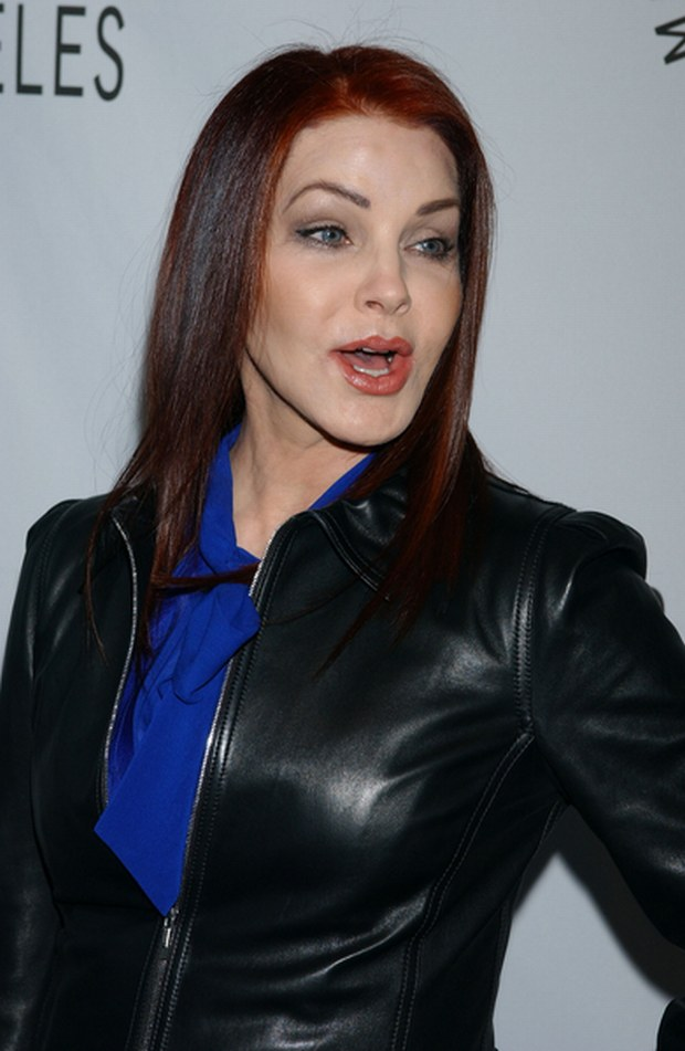 03/14/2008 - Priscilla Presley - The 25th William S. Paley TV Festival - Elvis 68 Comeback Special on the 40th Anniversary - Arclight Theater - Hollywood, CA USA - Keywords: Pregnant - 0 -  - Photo Credit: GL / PR Photos - Contact (1-866-551-7827)