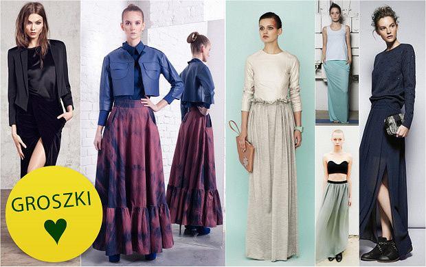 Kobieco i ciepło: długie spódnice