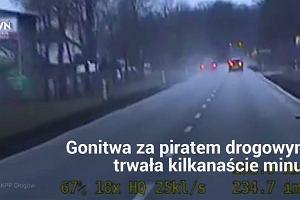Pijany kierowca bmw jechał tak szybko, że nie zauważył nawet policji. Dogonili go, dalej nie pojedzie