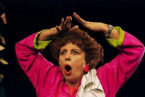 Krystyna Janda jako Shirley Valentine / materiały prasowe