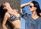 Viola Kołakowska w bikini nad morzem: Błotko i bicze wodne. Reakcja Karolaka nie spodoba się jej nowemu facetowi