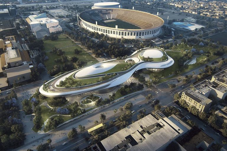 Koncepcyjny projekt Muzeum Gwiezdnych Wojen